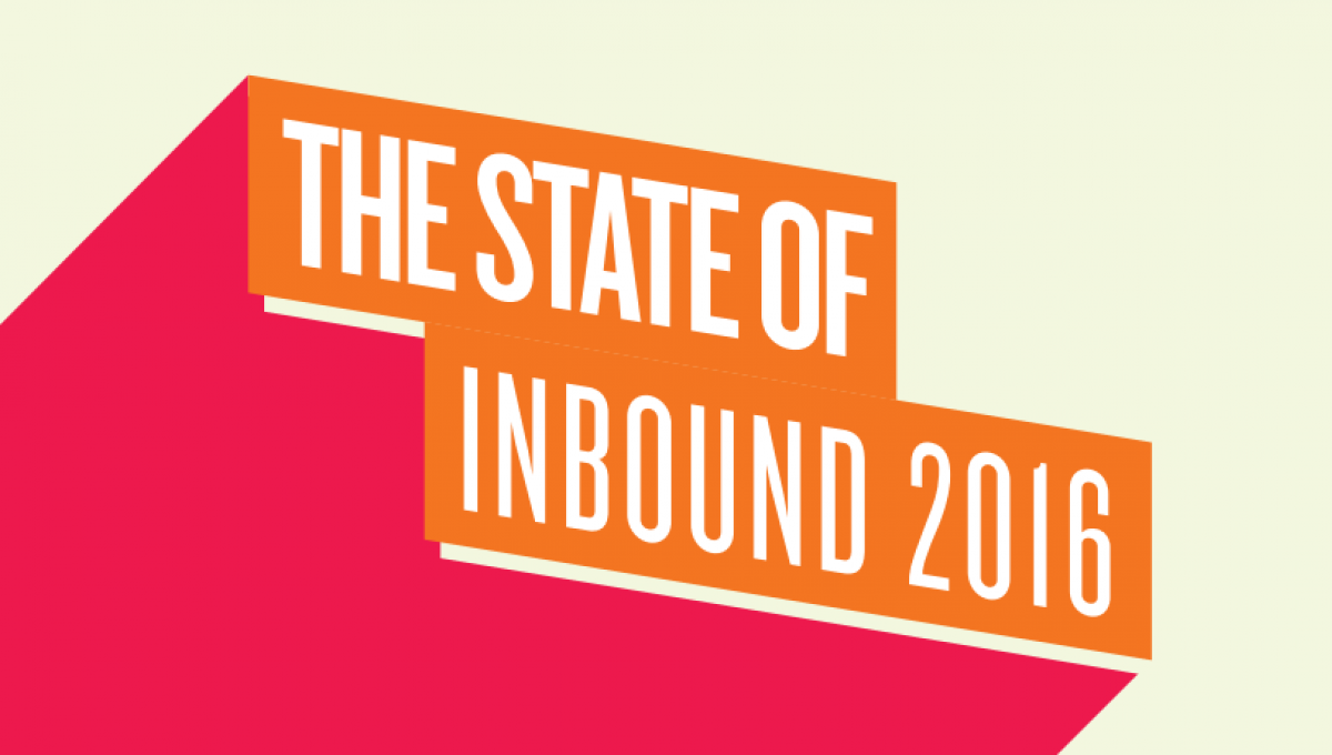 The State of Inbound 2016