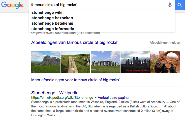 Google User Intent